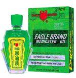 Eagle Brand Medicated Oil - Dau Gio Xanh Con O - 24ml