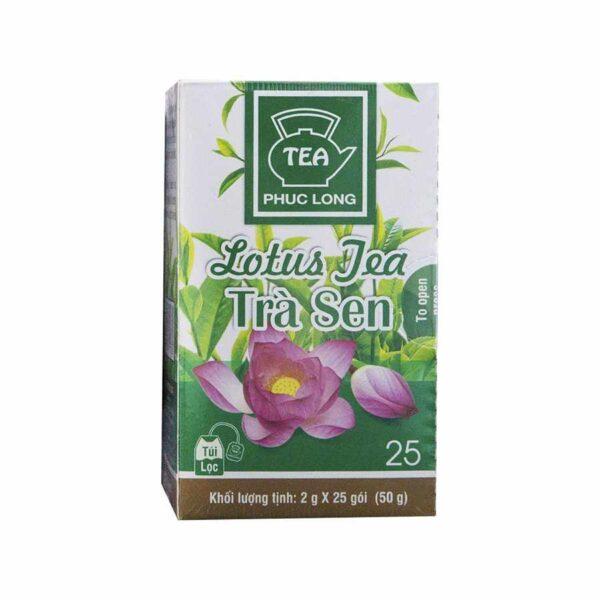 Tra sen Phuc Long lotus tea from Vietnam 25 bags