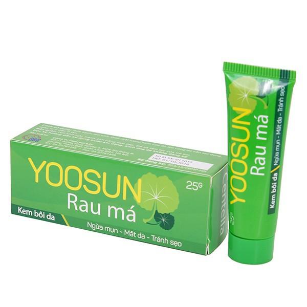 Yoosun pennywort cream (yoosun rau má trị mụn) - 1 tube 25gr
