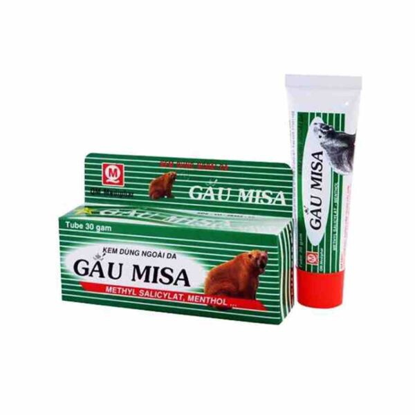 Gau Misa is a exceptional creme for the treatment of muscle aches, back pain, spains