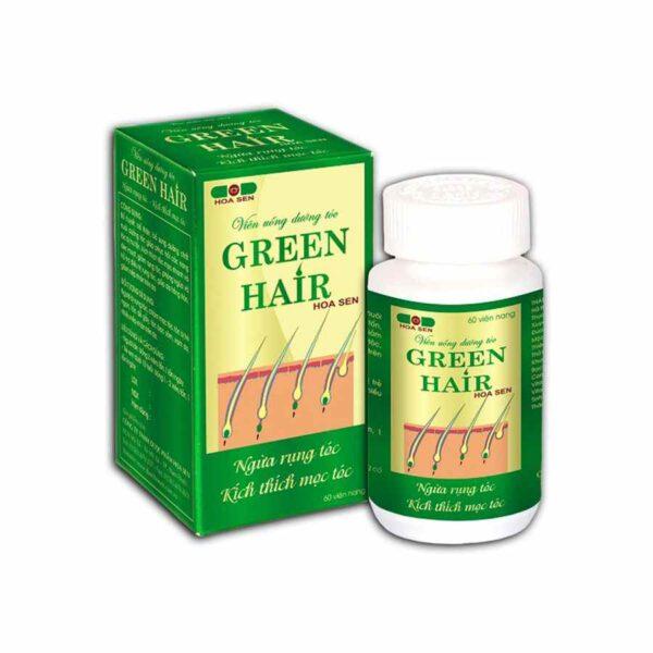 Green Hair Hoa Sen 60 capsules