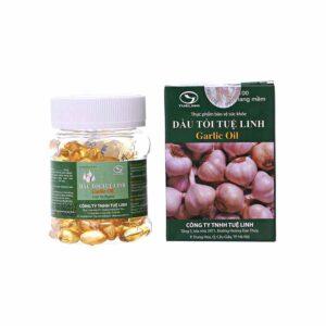 Garlic Oil Capsules Tue Linh