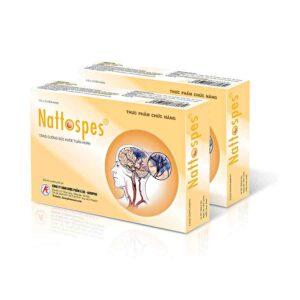 Nattospes Nattokinase - Prevent Cerebral Vascular, Stabilize the blood pressure - 30 tablets