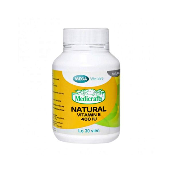Vitamin E Mega 400 IU 30 capsules