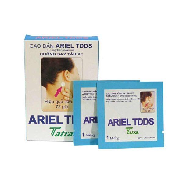 ariel tdds patch Vietnam 1 box 2 patches