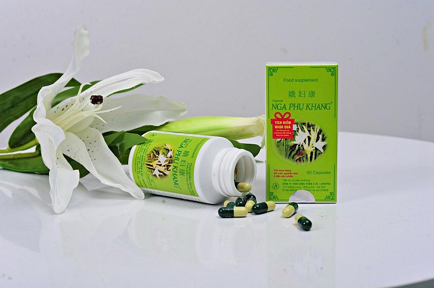 Nga Phụ Khang capsules