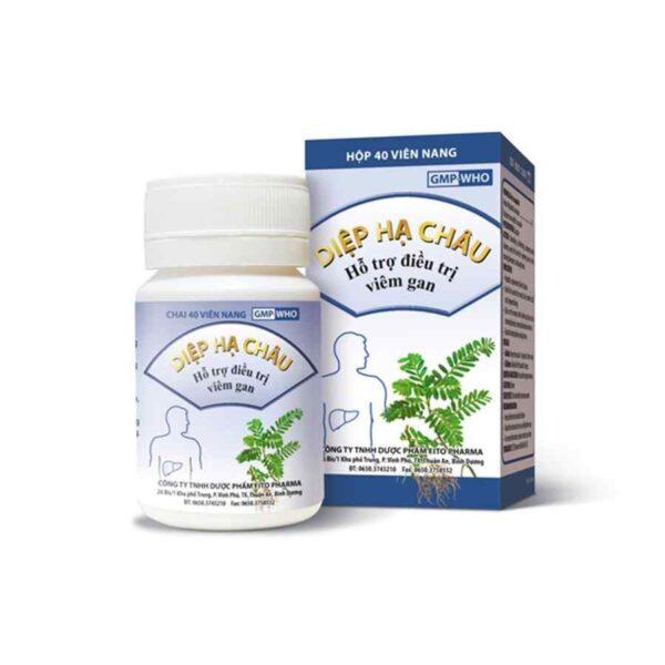 Diep Ha Chau capsules Fito Pharma brand