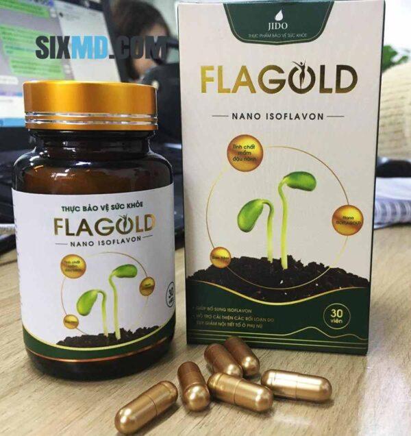 Flagold capsules