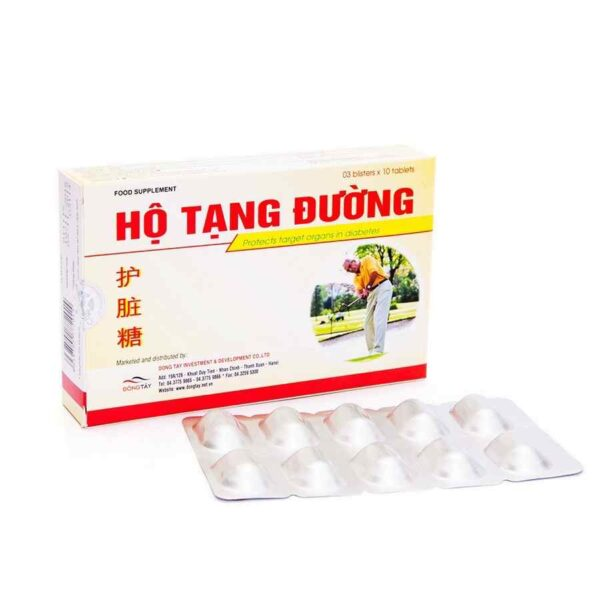 Ho Tang Duong - Treatment of type 1 and 2 diabetes
