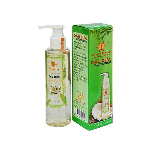Natural coconut oil Dau dua Xuan Nguyen 145 ml