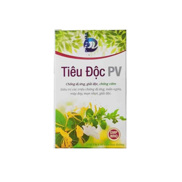 Tieu Doc PV 60 tablets herbal medicine