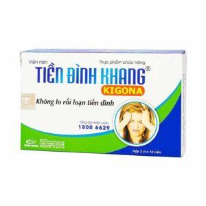 tien dinh khang Treatment of vestibular disorders