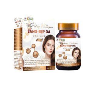 Collagen Sang Dep Da Gold from Vietnam 30 capsules 1 box