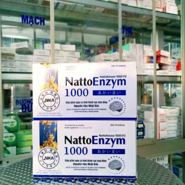 Nattoenzym 1000FU 20 capsules bxo