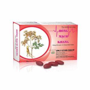 Hong Mach Khang - helps reduce symptoms of low blood pressure