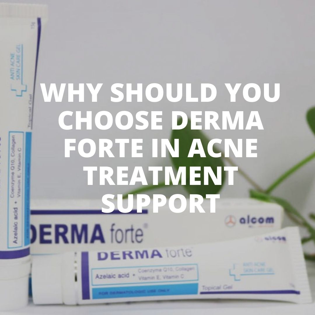 Derma Forte in acne treatment support