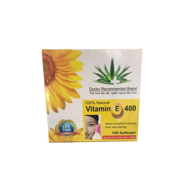 Vitamin E 400 Vietnam with Aloe