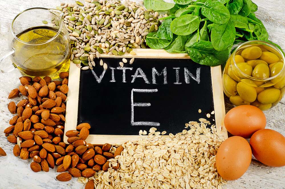 Vitamin E for skincare