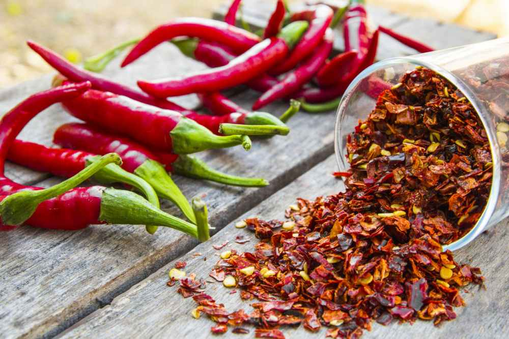 spicy red spicy food