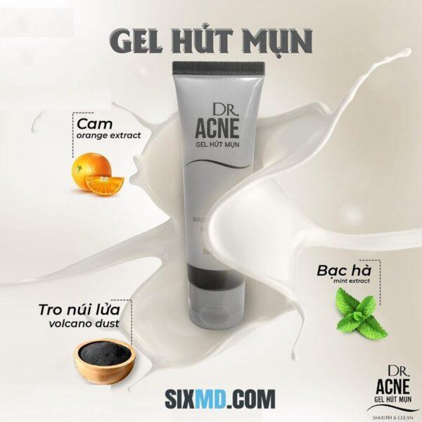 dr acne gel hút mụn 40g