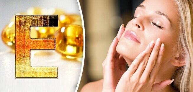 4. Does Vitamin E whiten the skin, blurry?