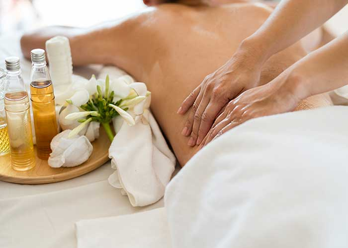 Purify the body with massage.