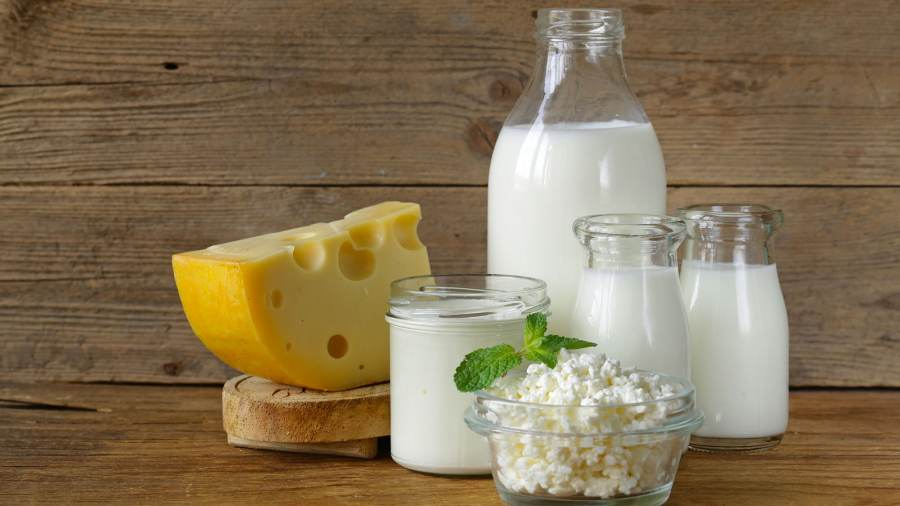 Milk and low-fat dairy products