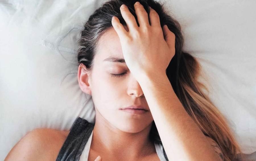 Headaches when sleep with wet hair