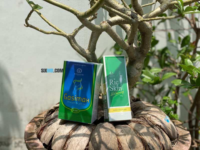 Gasimax and Ric Skin fat burning cream