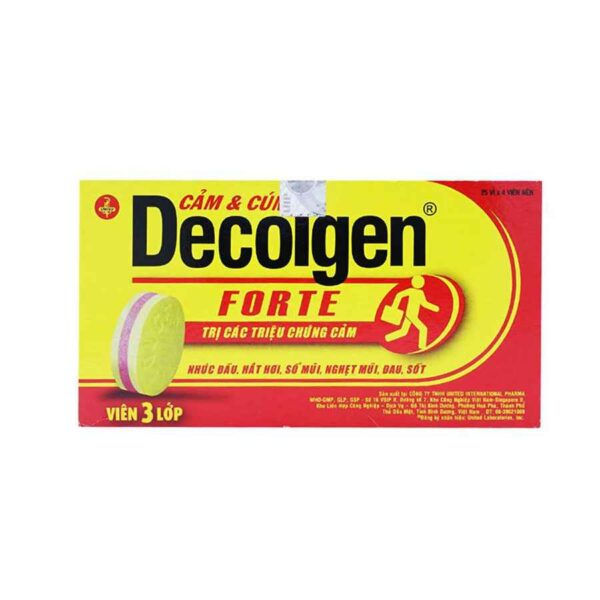Decolgen Forte 100 tablets