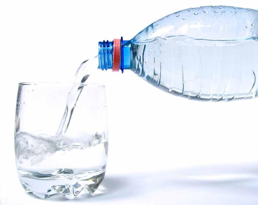Fresh water for skin